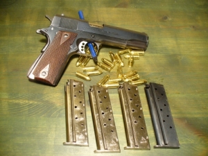 Colt 1911 USA Government MK/IV Series 70 9mm Luger
