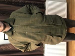 Greenbelt tweed angol stílusú kabát