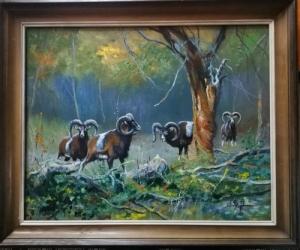 Vadász festmények