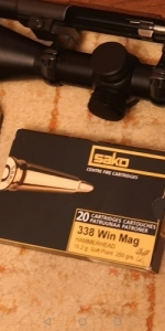 Sako hammerhed 16. 2 soft point 338win mag