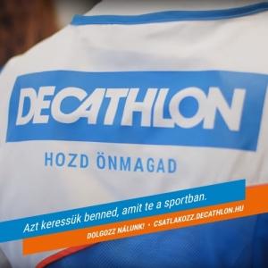 Decathlon Budaörs -VADÁSZ SPORTTANÁCSADÓ állás