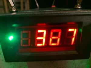 Lövedék sebességmérő kronográf,  Chronograph Chrony