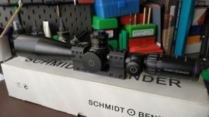 Schmidt Bender PM II 5-25X56 P4F