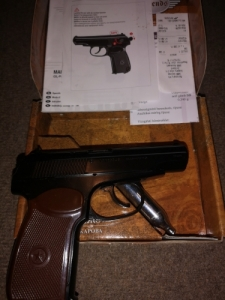 Umarex Makarov Legends Steel Co2 pisztoly