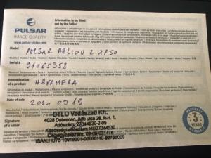 Pulsar Helion 2 XP50