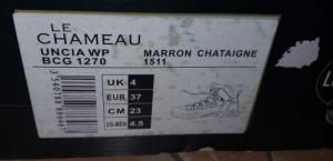 Le Chameau bakancs