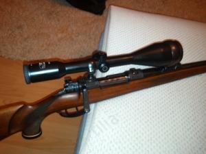 Merkel Kr-1, Tikka M658 ,  és AR-7 0.22 Survival Rifle és 1PN51 gen II.