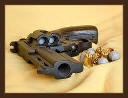 Gumilövedékes használt gáz-riasztó fegyver