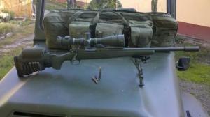 Pofadékmagasító lőszertartóval