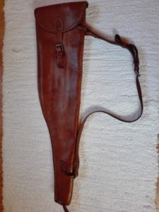 Bőr sörétes fegyvertartó tok