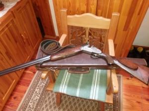 MERKEL bock 20/76 egyedi készítésű sörétes vadász lőfegyver