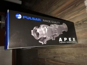 Pulsar apex XD 50 hőkamera céltávcső