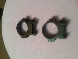 Weaver gyűrűpár 25 mm tubushoz