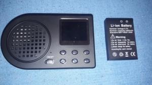 Elektromos vadhívó távirányítóval, hangágyú, hangszóró, csalihívó, magnó, kacsa, liba stb hangokkal