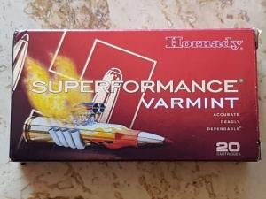 Hornady Superformance Varmint .223 Rem.