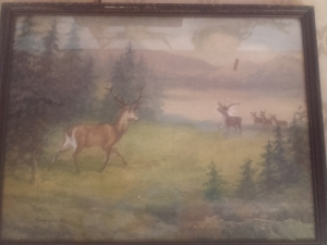 Csergezán Pál festmény