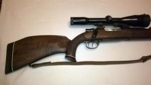 8x57JS+Zeiss céltávcsöves golyos fegyver