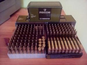 .222 Rem kaliberű golyós lőszer
