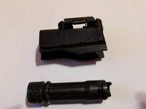 Blaser R93 médium balos (L) zárfej és médium tárbetét