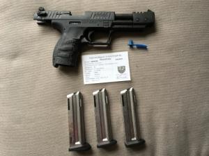Walter P22 Long Rifle