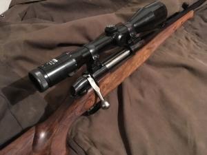 7mm Rem Mag golyós puska, Zeiss Távcsővel