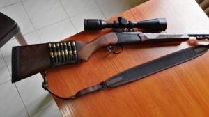 Billenő csövű golyós puska