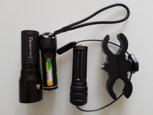 Led Lenser P7 450 Lumen vadászlámpa.
