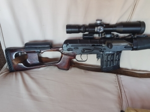 Dragunov mesterlövész puska