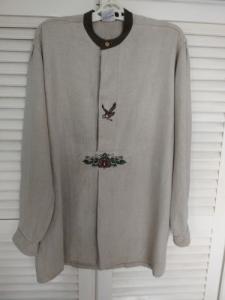 Lenvászon vadász ing