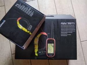 Garmin Alpha 100 + 2 db Garmin T5 nyakörv