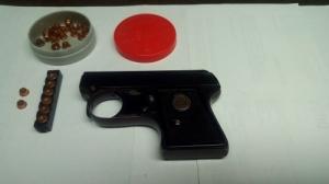 Riasztó-Start pisztoly