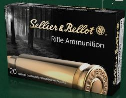 350 Ft. 30-06 Sprg. SPCE Sellier & Bellot lőszer - 40 darab