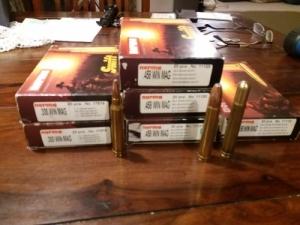 458 Win Mag lőszer