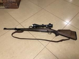 Osztrák Mauser 8x57 plusz dedal szerelék