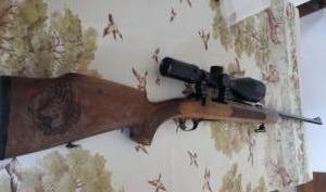 eladó .223 golyós puska akah 3-12X56-os céltávcsővel