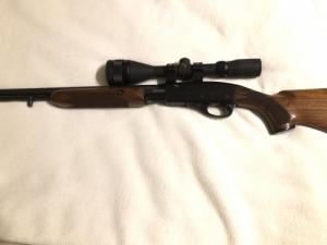 Golyós vadászfegyver.