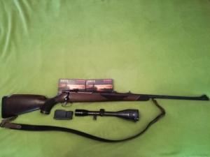 Sauer 80, 7mm RemMag, 8x56 Kahles