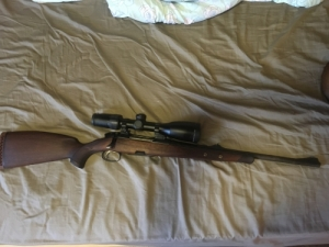 Holz m98 .270win, Browning a-bolt lll. 243win