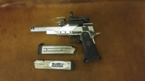 "SPS DC Custom 9mm Open, 6"" cső"