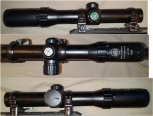 Eladó KAPS 1-4x22 BA hajtástávcső, világítópontos, Weaver sines szerelékkel
