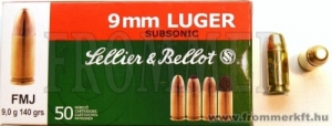 .38  SPECIAL Wad cutter és 9x19 (Luger) SUBSONIC