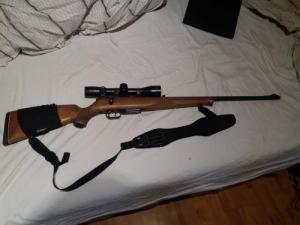 HW 60 J 222 kaliberű golyós puska