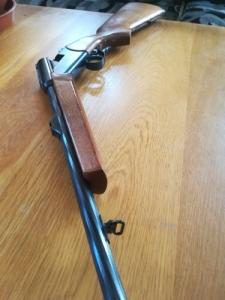 Baikal Izs 18 308win mag külső kakasos puska