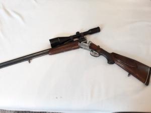 Ferlachi MARTIN KRUSICH  Vegyes csövű fegyver