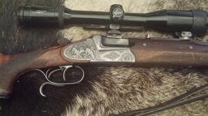 ferlach duplagolyós lőfegyver