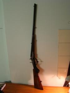 Dupla golyós vadászfegyver