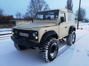 Land Rover Defender 90 hard top TGK