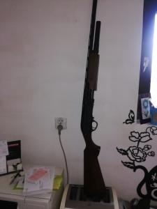 pumpás sörétes puska