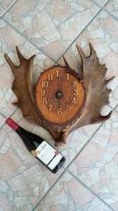 Antik vadász falióra