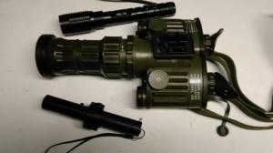 FERO 51 AEG éjjellátó lézer vetővel